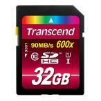 ◇ 【32GB】 Transcend/トランセンド SDHCカード UHS-I対応 CLASS10 永久保証 TS32GSDHC10U1 ◆メ