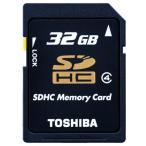 ◇【32GB】 TOSHIBA 東芝 SDHCメモリーカード SDHCカード CLASS4 海外リテール THN-N102K0320M4 ◆メ
