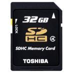 32GB SDHCカード SDカード TOSHIBA 東芝 Class4 専用カードケース付 日本語パッケージ SD-F32GTS ◆メ