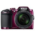 ◇ Nikon ニコン デジタルカメラ COOLPIX B500 光学40倍ズーム 約0.17秒の高速AF 1602万画素 プラム COOLPIXB500PU ◆宅