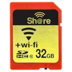 32GB ezShare Wi-Fi機能搭載SDHCカード Class10 Android/ iOS両対応 海外リテール Wi-FiSD-32G ◆メ