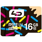 ◇ 【16GB】 LD microSDHCカード Class10 UHS-I対応 高速転送 R:最大70MB/s 日本語パッケージ LD-MSD16GC10U1 ◆メ