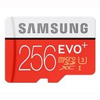 ◇ 【256GB】 Samsung サムスン microSDXCカード EVO Plus Class10 UHS-1 U3 R:95MB/s W:90MB/s 海外リテール MB-MC256D/CN ◆メ