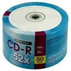 【返品交換不可】 MRDATA CD-R 700MB 50枚 エコパック MR CDR Bulk WP CF50P