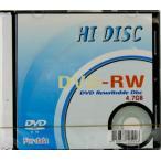 【HIDISC】 データ用DVD-RW 4.7GB 1枚入