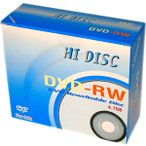 【HIDISC】 データ用DVD-RW 4.7GB 10枚入