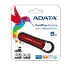 ADATA S107 防水&耐衝撃USB3.0 8GB レット AS107-8G-RRD【メール便対象商品2個までOK】
