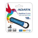 ADATA S107 防水&耐衝撃USB3.0 16GB ブルー AS107-16G-RBL【メール便対象商品2個までOK】