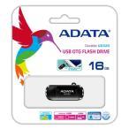 【数量限定☆超特価】<スマホ対応USBメモリ>ADATA DashDrive Durable UD320 USBフラッシュメモリ 16GB AUD320-16G-CBK 【メール便OK】