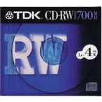 TDK �ǡ�����CD-RW 700MB 4��® 1�� 10mm�������� CD-RW80S