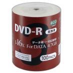 �㿷���ʡ� �ڶ�̳�ѡ� DVD-R �ǡ����� 4.7GB 1-16��®�б� 100�祷����eco�ѥå� �ۥ磻�ȥ磻�ɥ����� �������åȥץ���б� DR47JNP100_BULK5