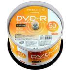 PREMIUM HIDISC DVD-R データ用 16倍速 4.7GB ホワイトワイドプリンタブル スピンドルケース 50枚 HDVDR47JNP50