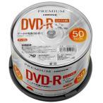 �㿷���ʡ�PREMIUM HIDISC DVD-R �ǡ����� 16��® 4.7GB �ۥ磻�ȥ磻�ɥץ�֥� ���ԥ�ɥ륱���� 50�� HDSDR47JNP50