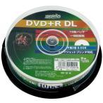 HIDISC データ用 DVD+R DL 片面2層 8.5GB 10枚 8倍速対応