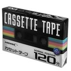 HIDISC 音楽用カセットテープ ノーマルポジション 120分 1巻 HDAT120N1P