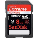 SanDisk(サンディスク)SDHCカード 8GB Extreme SDHC UHS-I SDSDX-008G-X46