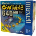 ��������λ�ʡ��߸˸¤�ۥޥ����� 3.5����� ��® MO�ǥ����� 640MB 5��ѥå� Windows�ե����ޥåȺ� �����С��饤���б� maxell RO-M640.WIN.B5P