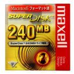 【激レア!】マクセル SuperDisk 240MB(スーパーディスク)ブラック 1枚 Macintoshフォーマット SD240.MAC.B1P【メール便不可】