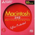 【売り切れ御免】 三菱化学メディア マックフォーマット済 ホワイト フロッピーディスク 10枚 FD 2HDM10【メール便不可】