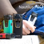 ASPIRE NAUTILUS AIO メール便無料 電子タバコ vape アスパイア アスファイア POD スターターセット 国産リキッドつき ☆ ASPIRE NAUTILUS AIO STARTER KIT