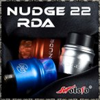 ナッジ BF 22mm スコンカー BF対応 シングルビルド RBA RDA リビルダブルドリッピングアトマイザー Wotofo 社製 アトマイザー  WOTOFO NUDGE RDA 22MM