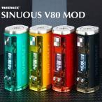WISMEC SINUOUS V80 TC MOD �Żҥ��Х� vape �磻����å���������å� ���˥奢�� �ƥ��˥��� BOX MOD 18650 ���� �� WISMEC SINUOUS V80 80W TC Mod