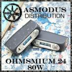 電子タバコ VAPE  ASMODUS アスモドス アスモダス オームシミウム  ハイスペックBOXMOD  designed by USA  ASMODUS  Ohmsmium 24mm 80W TC Box Mod 本体