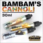 電子タバコ VAPE 用 アメリカ製 リキッド Bam Bams Cannoli MADE IN USA 30ml