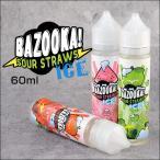 電子タバコ VAPE 用 アメリカ製 リキッド バズーカサワーストローアイス Bazooka Sour Straws Ice eJuice MADE IN USA 60ml