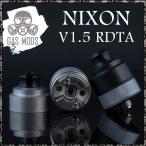 電子タバコ VAPE リビルダブルアトマイザー RBA RDTA ドリッピングタンクアトマイザー  ガスモッズ ニクソン RDTA GASMODS NIXON RDTA V1.5