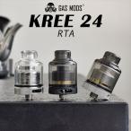 GASMODS KREE 24 RTA ガスモッズ クリー 24 RTA アトマイザー vape rta 直径 24mm 電子タバコ タンク シングル クリー rta rba