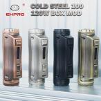 EHPRO Cold Steel 100 120W TC Box MOD �����������ץ� ������� ���ƥ����� �Żҥ��Х� vape mod �ƥ��˥��� box mod ����Хåƥ �ƥ��˥���mod