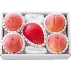 桃とマンゴー《お中元ギフト 御礼 内祝い粗品 快気祝い 御祝 お返し》