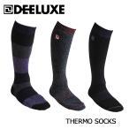 DEELUXE(ディーラックス)サーモソックス 14-15  スノーボード ソックス 靴下/THERMO SOCKS /  「メール便不可」