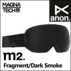 anon.  アノン ゴーグル GOGGLE 2016-17モデル スノボー M2  Fragment/Dark Smoke アジアンフィット ASIAN FIT 【返品種別SALE】