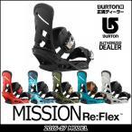 16-17 BURTON バートン MENS メンズ BINDING バインディング MISSION ReFlex ミッション 日本正規品 【返品種別SALE】