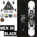 16-17 DEATH LABEL スノーボード デスレーベル MEN IN BLACK MIB メンインブラック