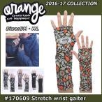 ORANGE (オレンジ )16-17 モデル スノーボード アクセサリー #170609 Stretch wrist gaiter ストレッチリストゲーター 【返品種別SALE】