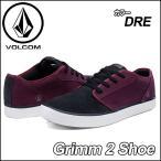 ショッピングvolcom volcom ボルコム スニーカー メンズ /新作//Grimm 2 Shoe /カラー/DEEP RED /  シューズ 靴 /