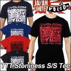 volcom Japan Limited ボルコム tシャツ メンズ ティー 【TTT Stoniness S/S Tee 】 半そで VOLCOM 【返品種別】