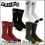 高袜 - volcom ボルコム ソックス メンズ 靴下  Full Stone Sock  メール便可/【返品種別SALE】