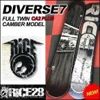 17-18 rice28 diverse7 ライス28 スノーボード板  DIVERSE7 ディバース  メンズ snow board /予約販売品