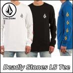 ショッピングボルコム VOLCOM ボルコム tシャツ ロンT メンズ Deadly Stones L/S Tee  長そで ヴォルコム メール便不可