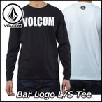 ショッピングボルコム VOLCOM ボルコム tシャツ ロンT メンズ Bar Logo L/S Tee  長そで JapanLimited ヴォルコム メール便可
