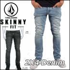 ショッピングボルコム volcom ボルコム デニム パンツ メンズ ジーンズ ジーパン 2x4 Denim ATB ヴォルコム
