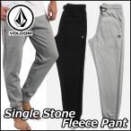 ショッピングボルコム volcom ボルコム スエットパンツ メンズ Single Stone Fleece Pant ヴォルコム ジャージ