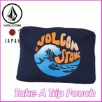 volcom Japan Limited ボルコム ポーチ レディース  Take A Trip Pouch 小物入れ  VOLCOM ヴォルコム 【返品種別SALE】