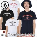 VOLCOM ボルコム tシャツ メンズ Japan LimitedBrand Arch SS Tee 半そで ヴォルコム メール便可【返品種別OUTLET】