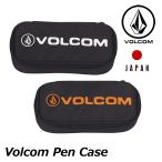 ショッピングボルコム ボルコム volcom ペンケース Volcom Pen Case 筆箱 筆記用具入れ 小物入れ japan limited メール便不可