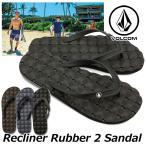 volcom ボルコム ビーチサンダル Recliner Rubber 2 Sandal メンズ ビーサン V0811882 【返品種別】